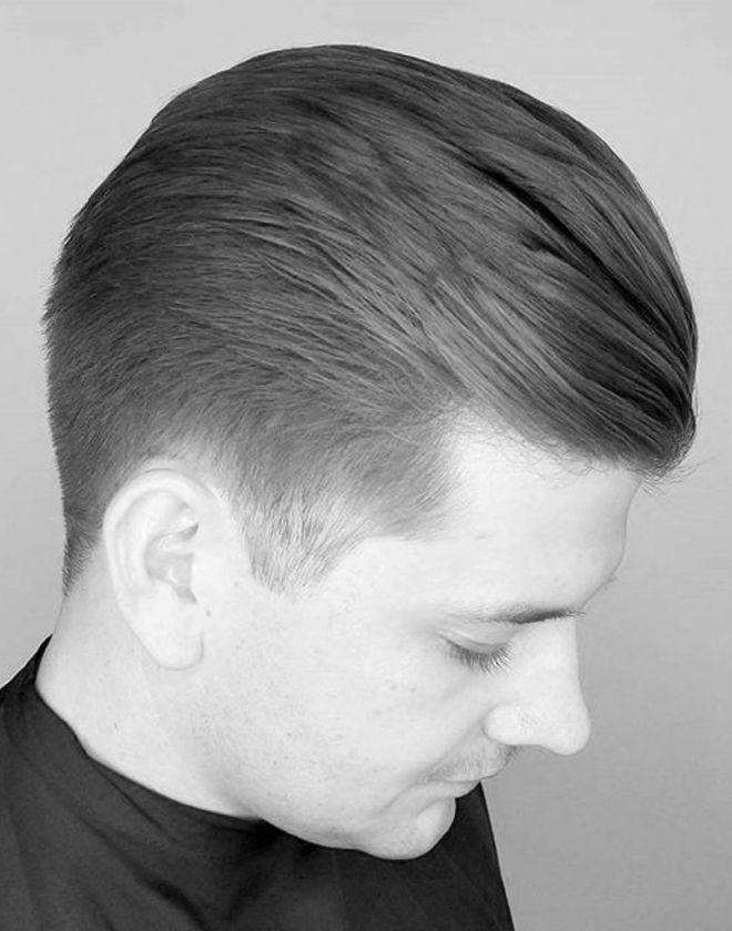 Slick Back Short Haircut