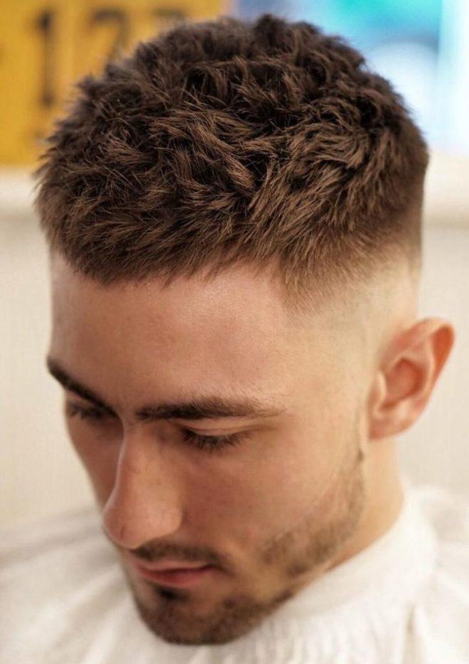 Thin Fade Short Hair