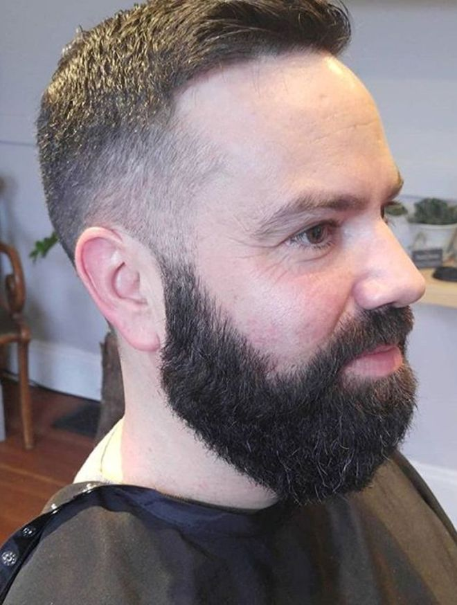 Texture Fade Haircut with PDX Beard