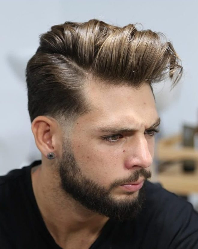 Comb over Medium Haircut