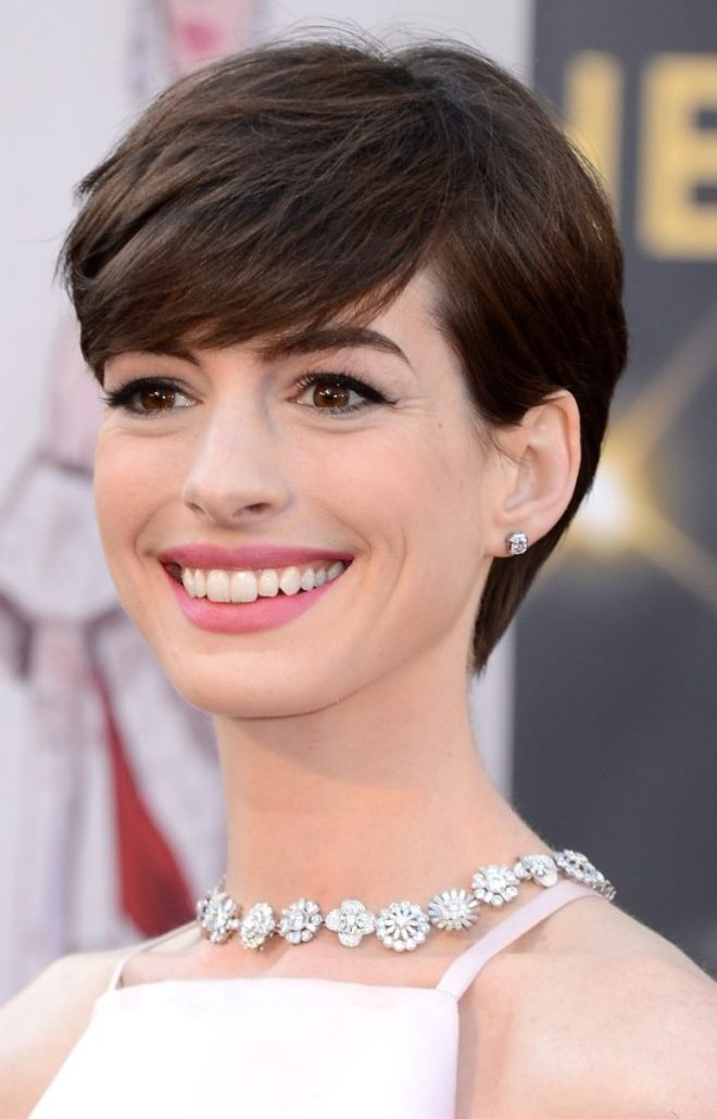 Pixie Short Hair with Bangs