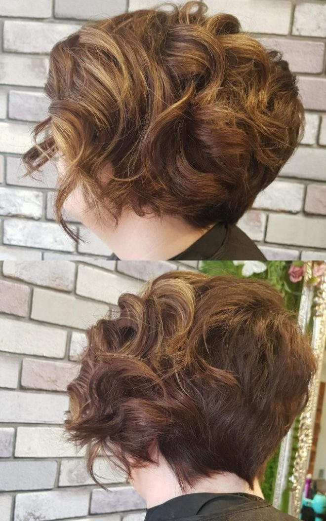 Choppy Curly Pixie Cut