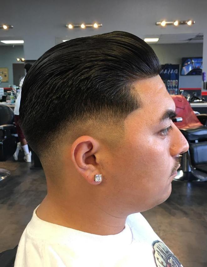 latest mens slick  hairstyles haircut ideas