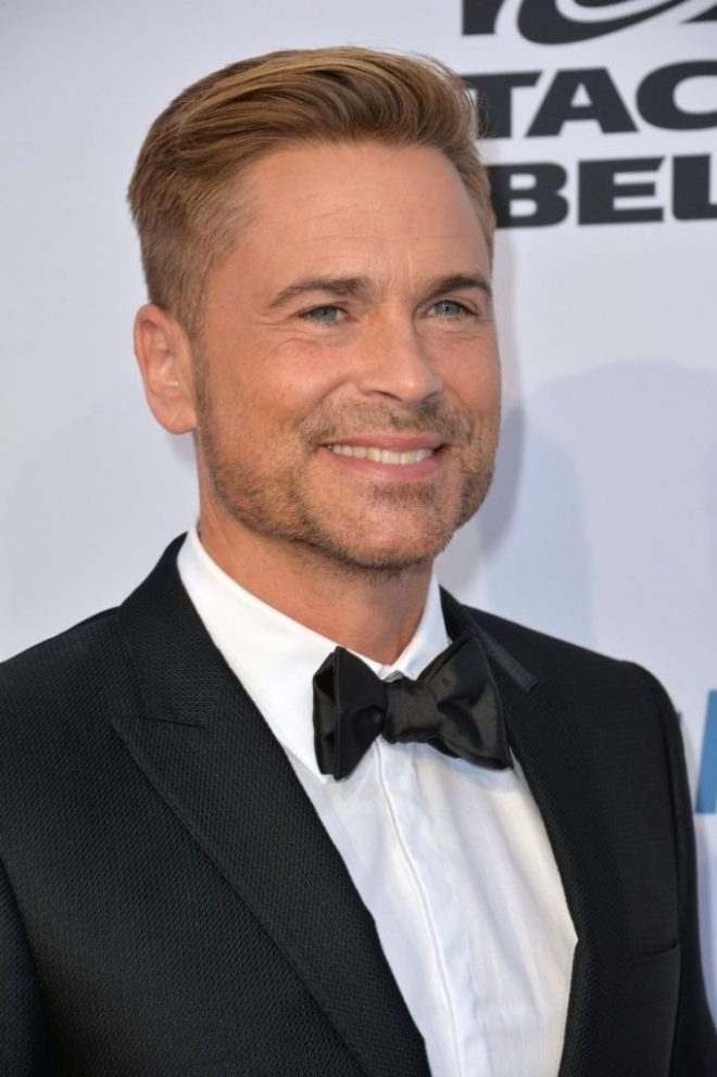 Rob Lowe Comb over Haircut