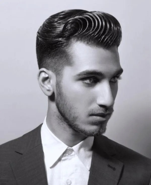 Swoop Pompadour Hairstyle