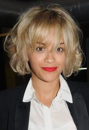 cute and easy messy short hairstyles