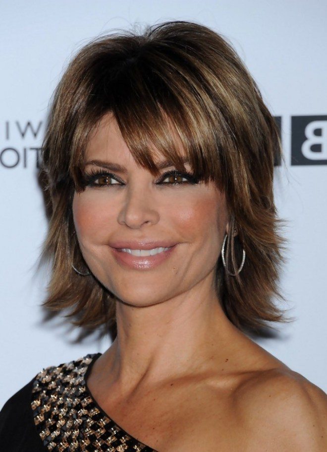 Shaggy Hairstyle For Older Women