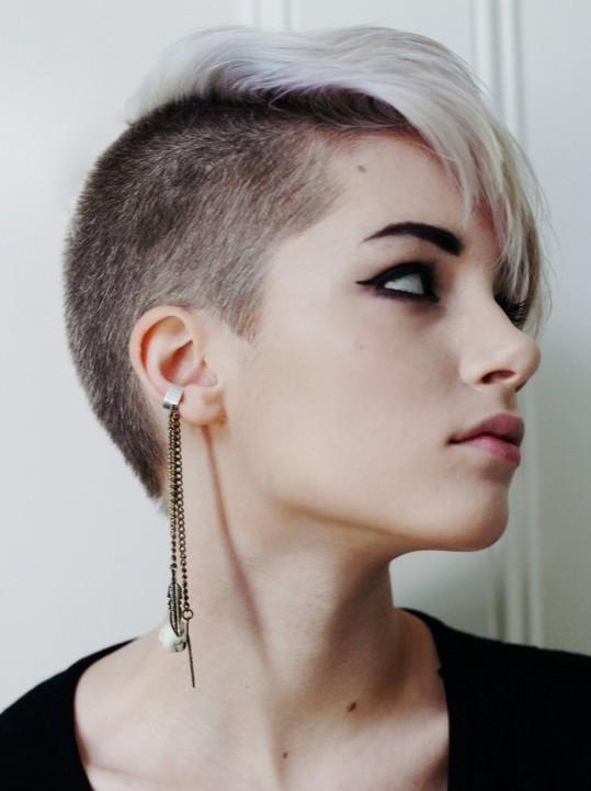 Undercut Design Pixie Hairstyle