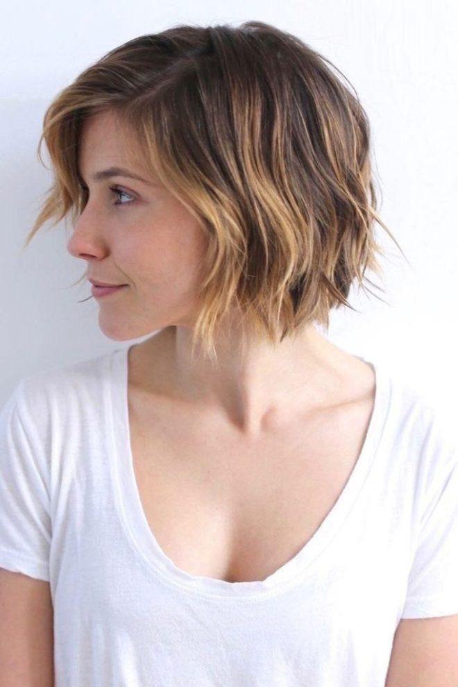Choppy Short Hairstyle