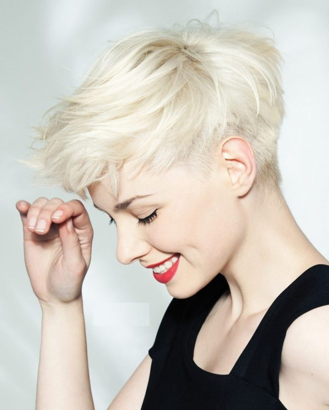 Pointy Spikes Undercut Hairstyle