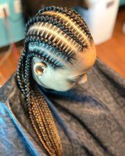 cornrows braids - learn