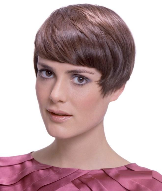 Pixie Cut Fringe Hairstyle