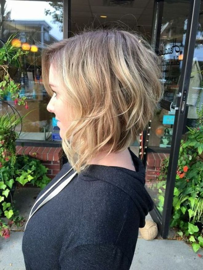 Layered Inverted Bob Short Hairstyle