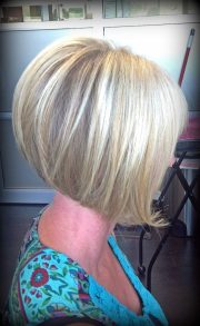 easy style inverted bob short