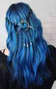 blue hair color ideas women