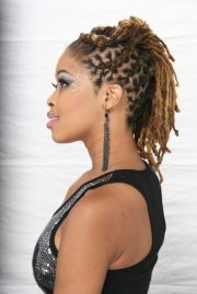short dreadlocks hairstyles