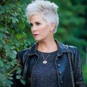 beautiful gray hairstyles