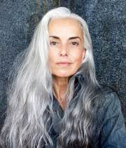 beautiful gray hairstyles