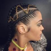 stunning goddess braids hairstyles