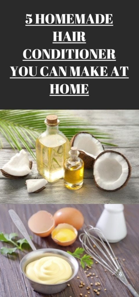 5 Homemade Hair Conditioner You Can Make at Home | Hairdo ...
