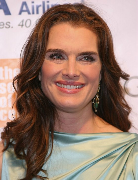 Brooke Shields Long Below The Shoulders Hairstyle And