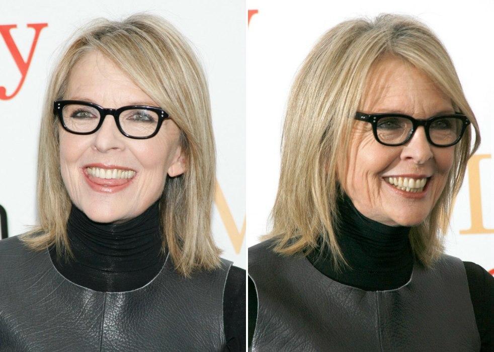 Diane Keaton Hairstyle