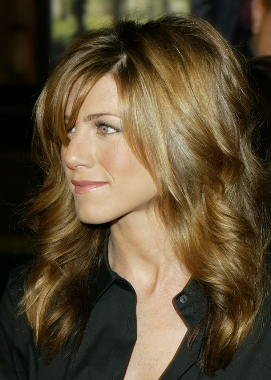 Light Hair Aniston Jennifer Brown