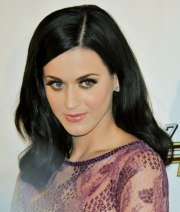 katy perry with blue black hair