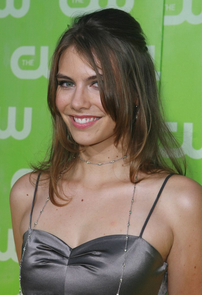 Katie Cassidy  Lauren Cohan  hair with angled sides  trendy