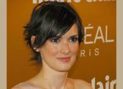 winona ryder with short choppy