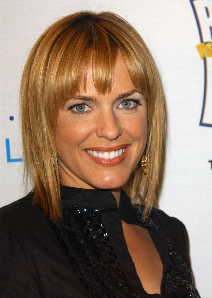 Arianne Zucker's Flattering Bob With Choppy Bangs And Adrienne