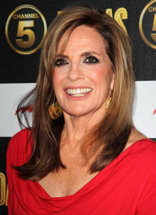 Linda Gray Aged Over 70 Long Hairstyle For A Youthful