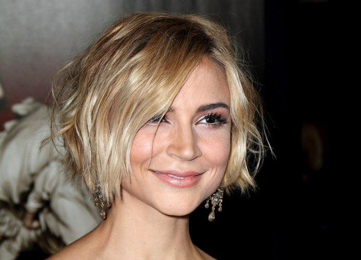 Short Tousled Hairstylesghantapic