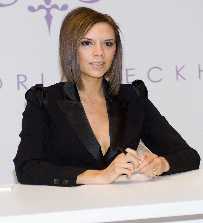 Victoria Beckhams A Line Bob With A Graduated Shorter