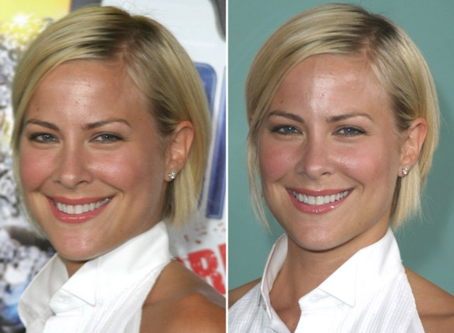 brittany daniel | short and sporty tapered bob hairstyle and