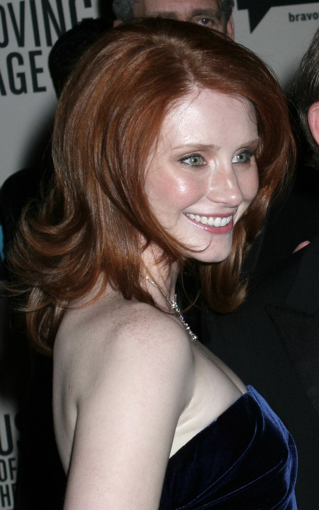 Bryce Dallas Howard Red Hair In An Easy Maintenance Long
