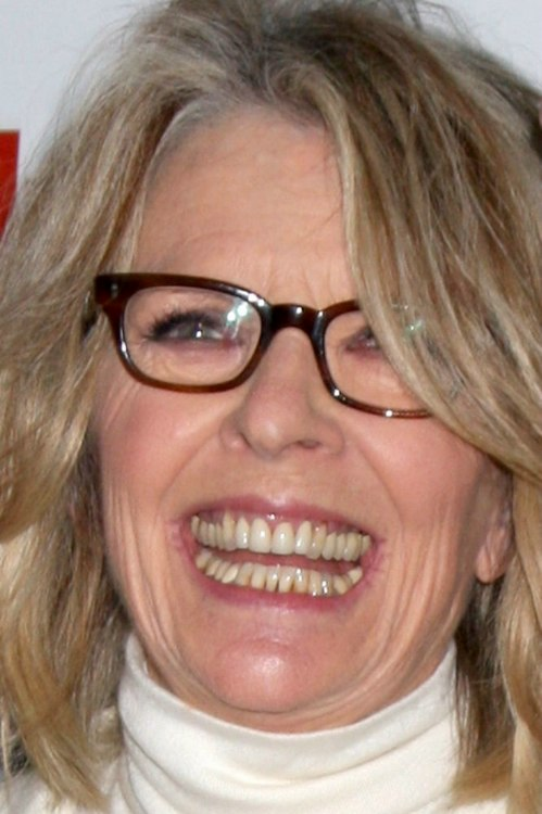 Diane Keaton Above The Shoulders Hairstyle To Age