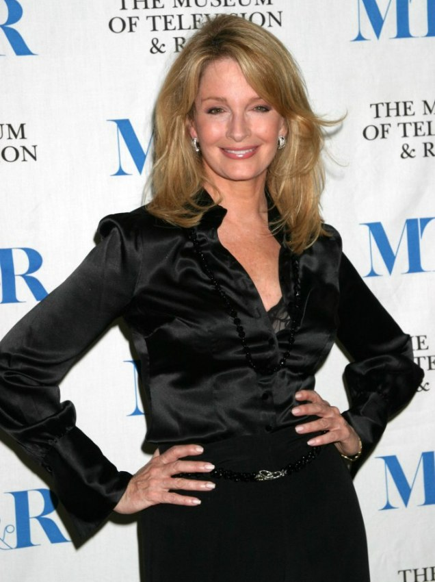 Deidre Hall Past The Shoulders Hairstyle And A Silk Blouse For A