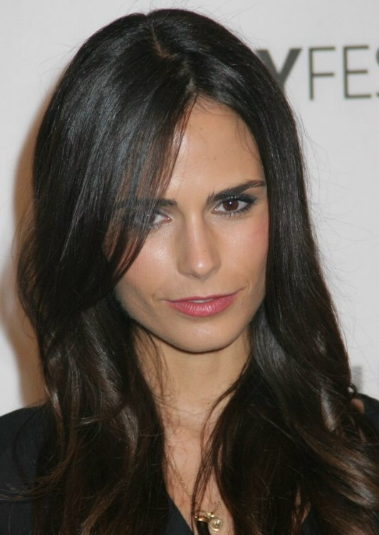 Jordana Brewster Smooth Long And Past The Collarbone