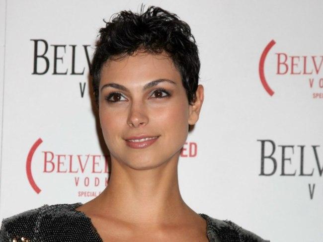 Morena Baccarin Short Pixie Haircut