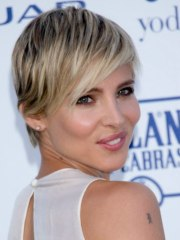 elsa pataky short blonde pixie