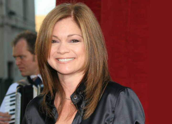 Valerie Bertinelli Mid Length Haircut For An Over 40