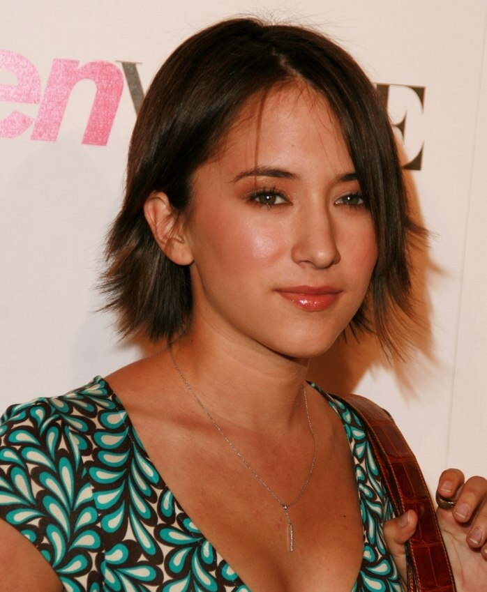 Zelda Williams Hairstyle With Razor Jagged Ends For A