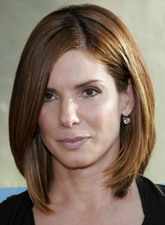 Sandra Bullock Sporting A Timeless Classic Hairdo Trendy