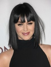 katy perry black hair cut
