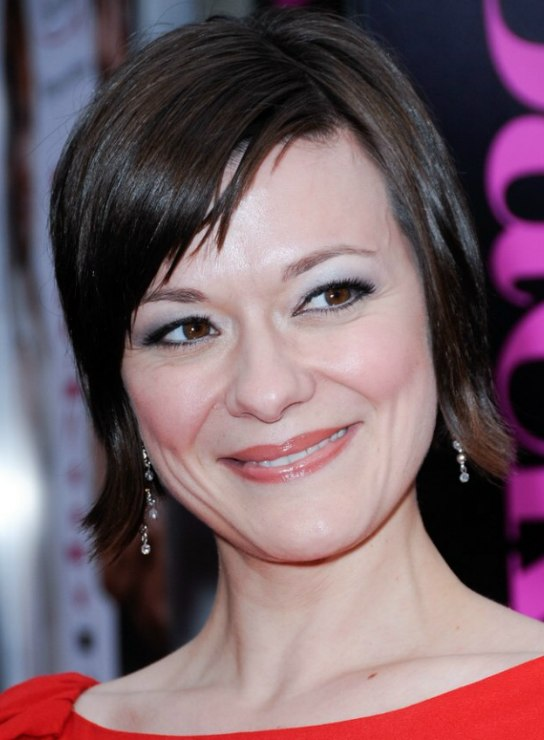 Maribeth Monroe s easy to style short hair that covers the ears