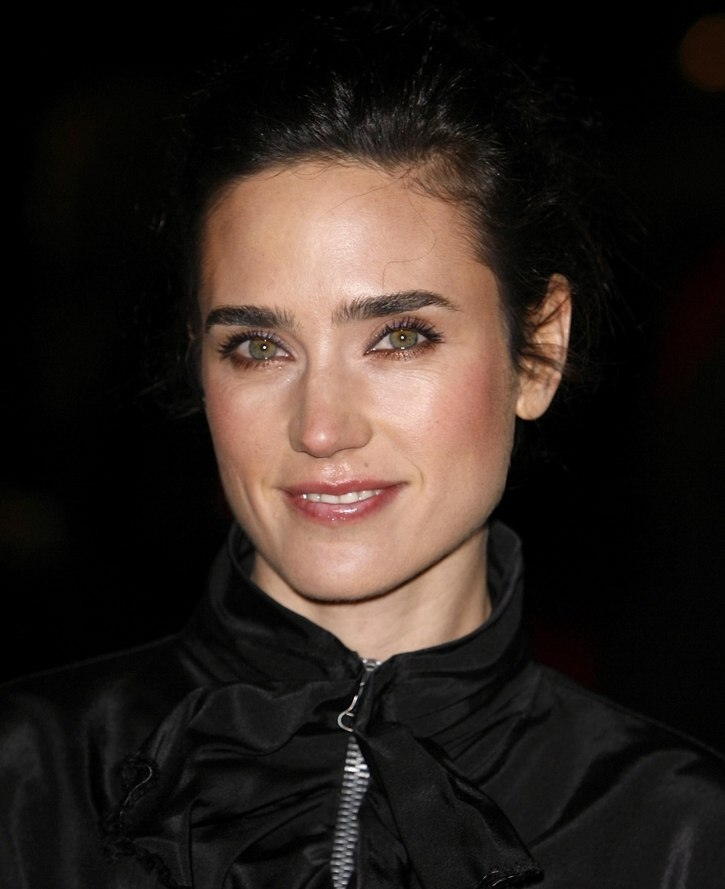 Jennifer Connelly wearing her hair up in an easy to do old
