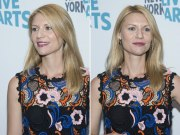 claire danes simple sleek hairstyle