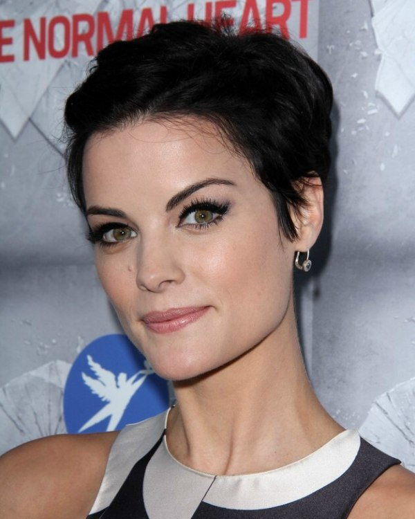 Jaimie Alexander  Cute pixie with soft touches around the ears
