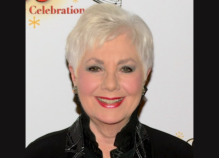 80 Years Old Shirley Jones Practical Pixie Hairstyle For Older Women